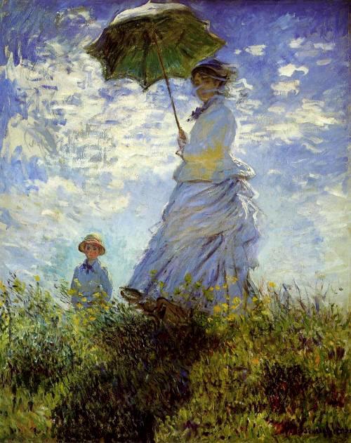 Claude-Monet-paseo-campo