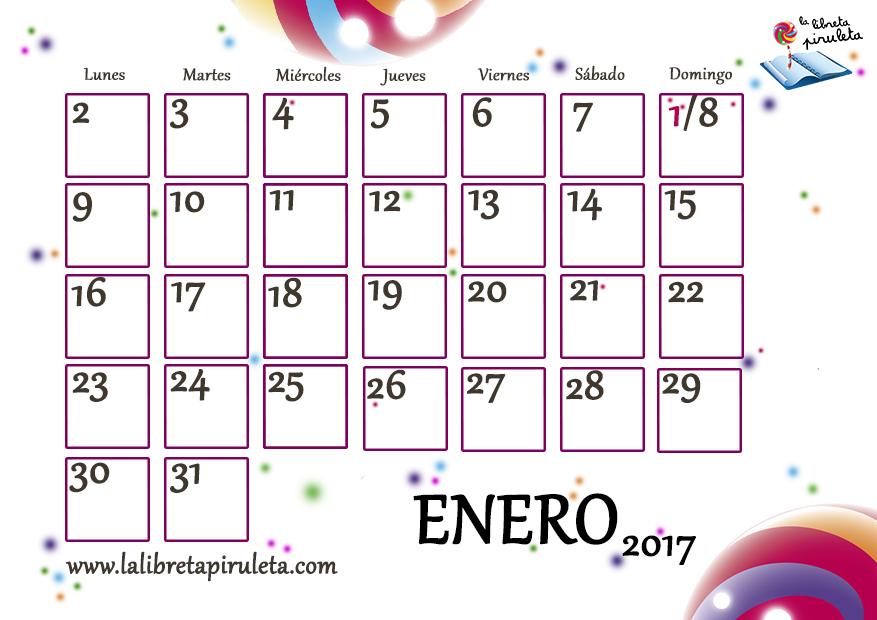 Papelotes: Nuestros calendarios (2017)