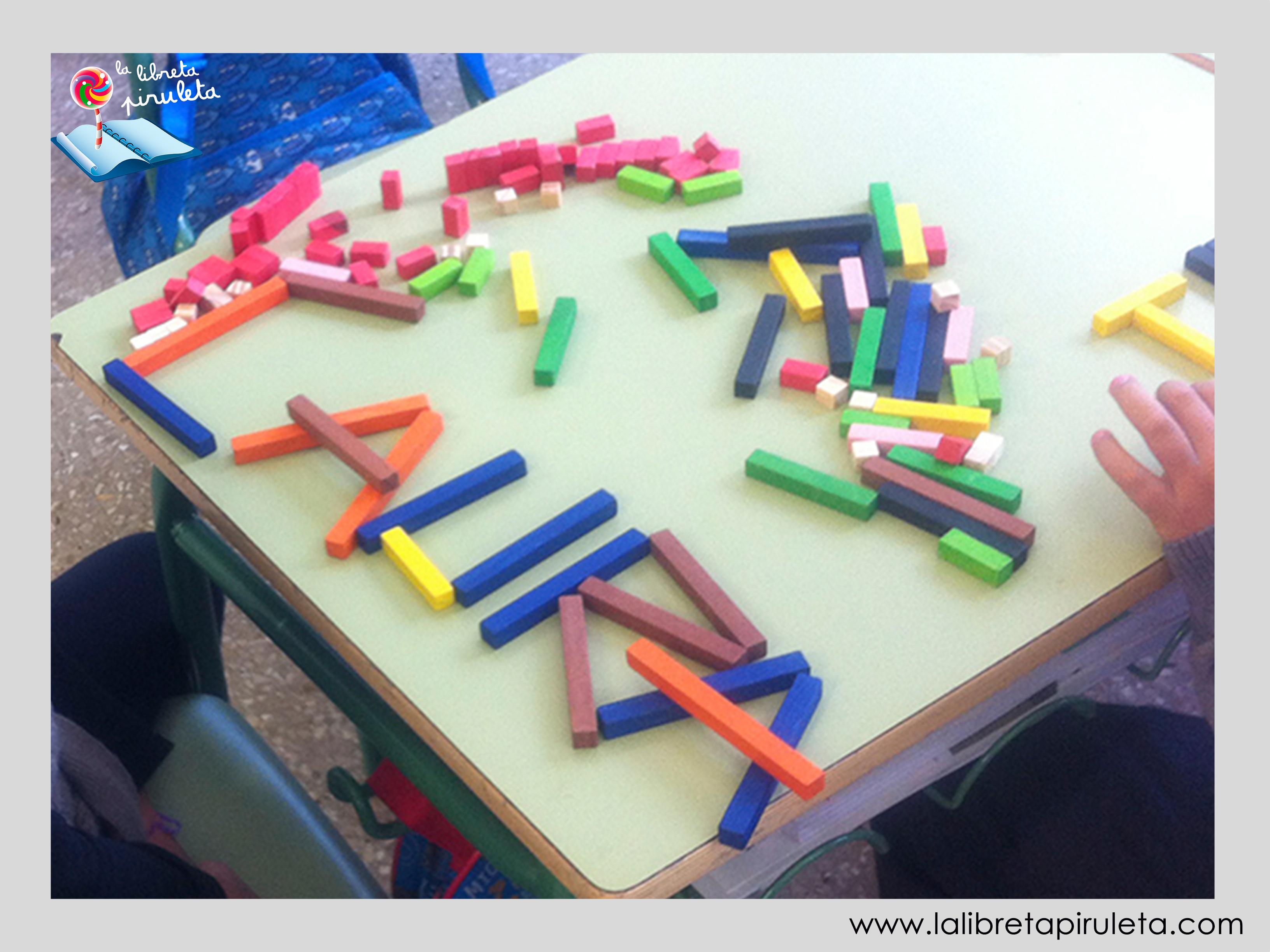 Regletas letras