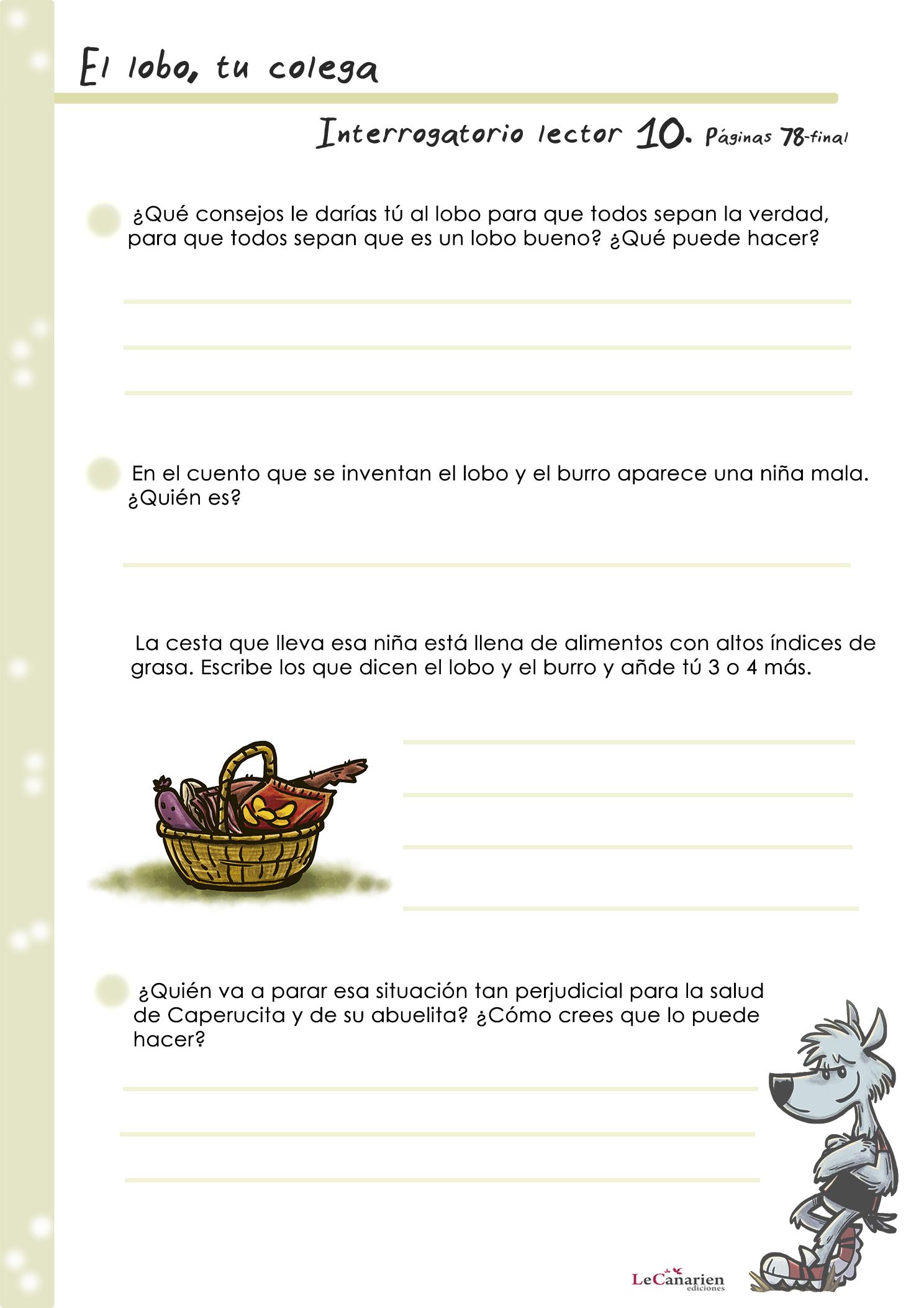 INTERROGATORIO LECTOR 10