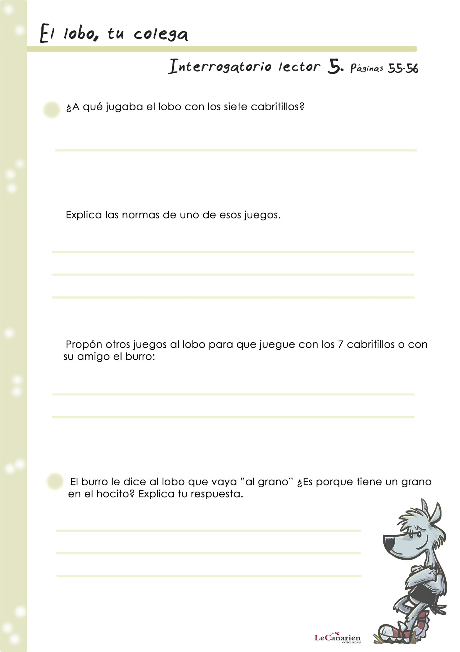 INTERROGATORIO LECTOR 5
