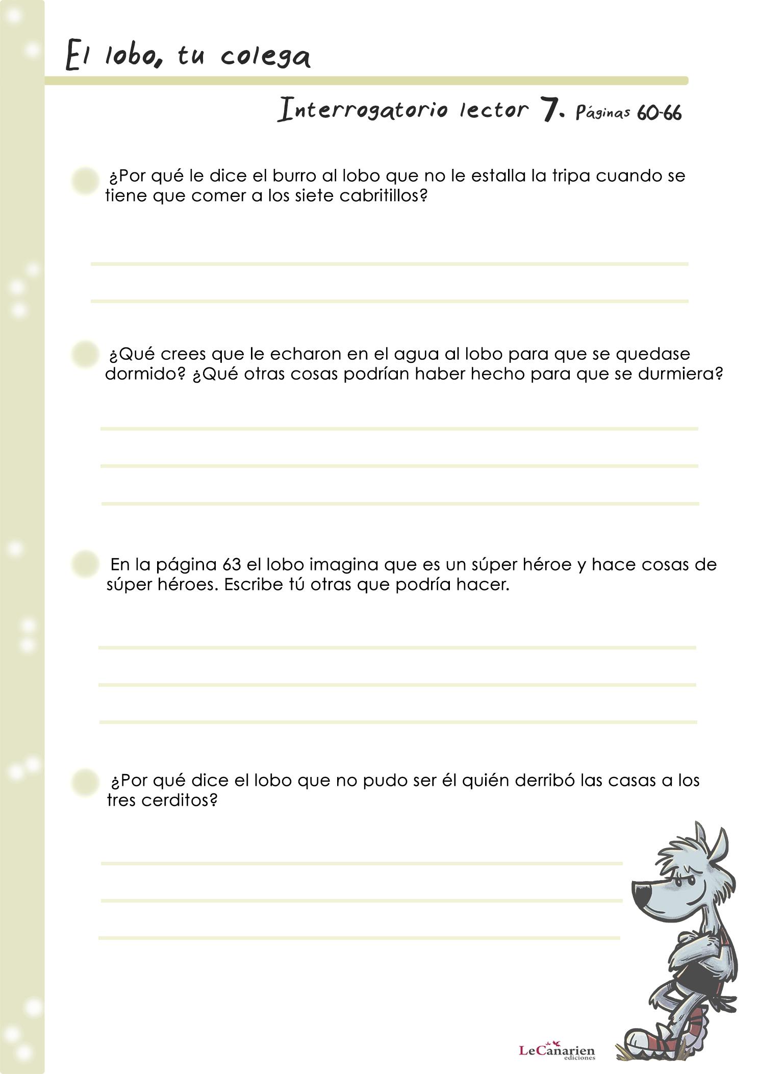 INTERROGATORIO LECTOR 7