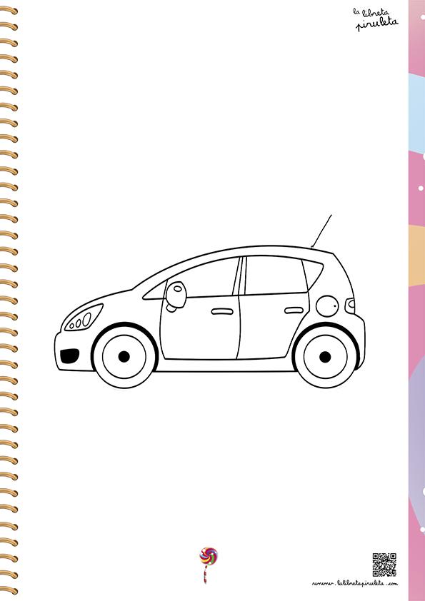 colorea-coche