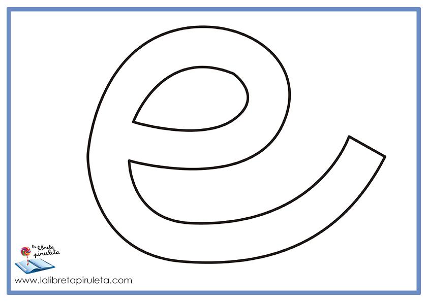 Dibujo Para Colorear Libreta: Fichas De Dibujos Para Colorear Según Vocales La Libreta