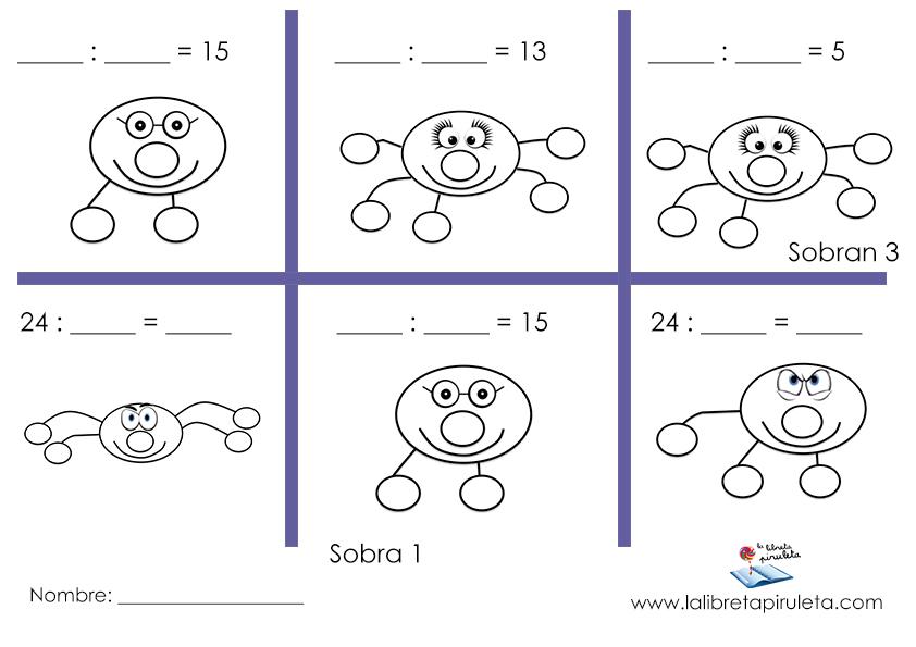 La división en primaria