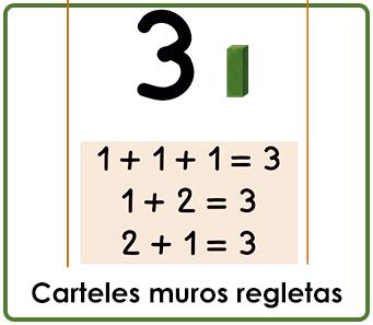 CARTELES MUROS REGLETAS