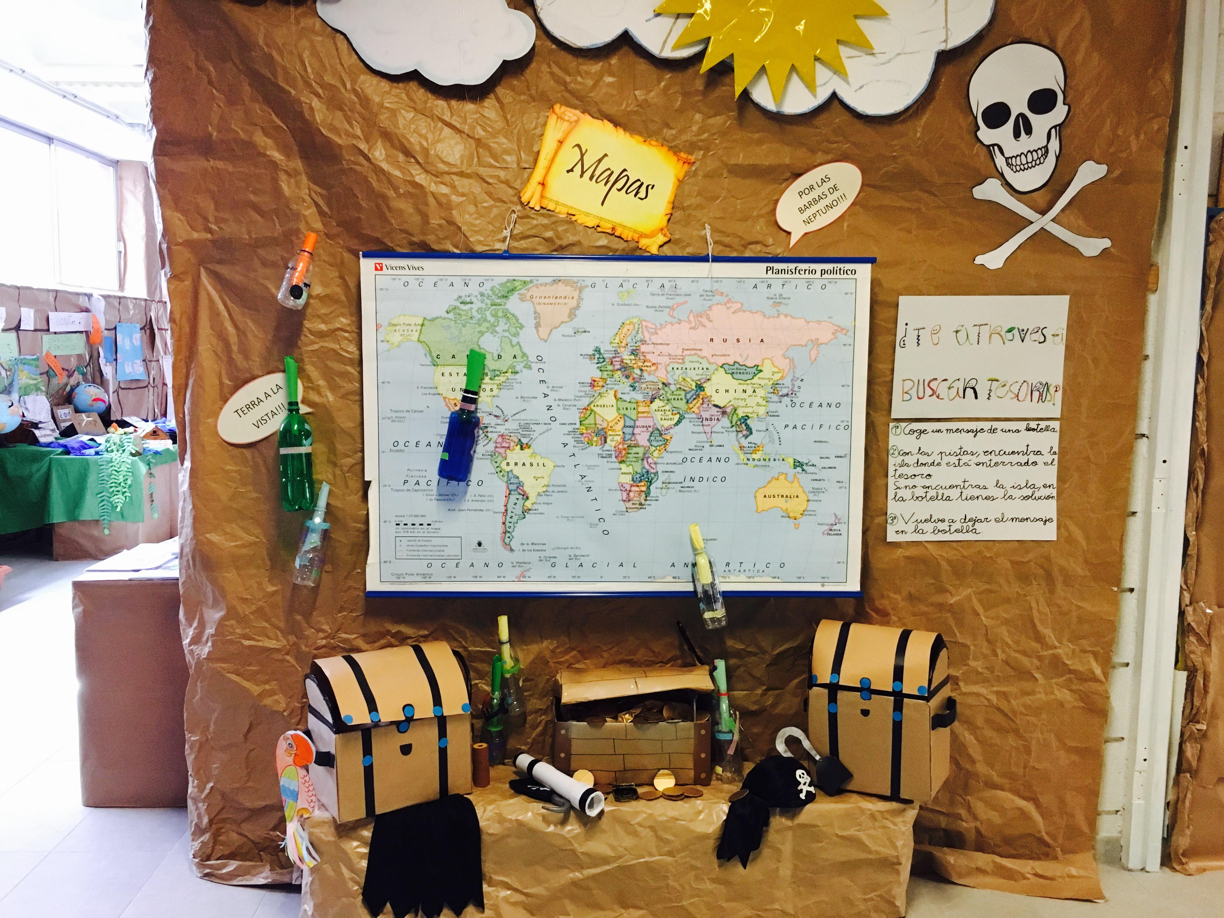 Los mapas en primaria