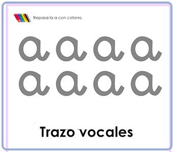Trazo vocales