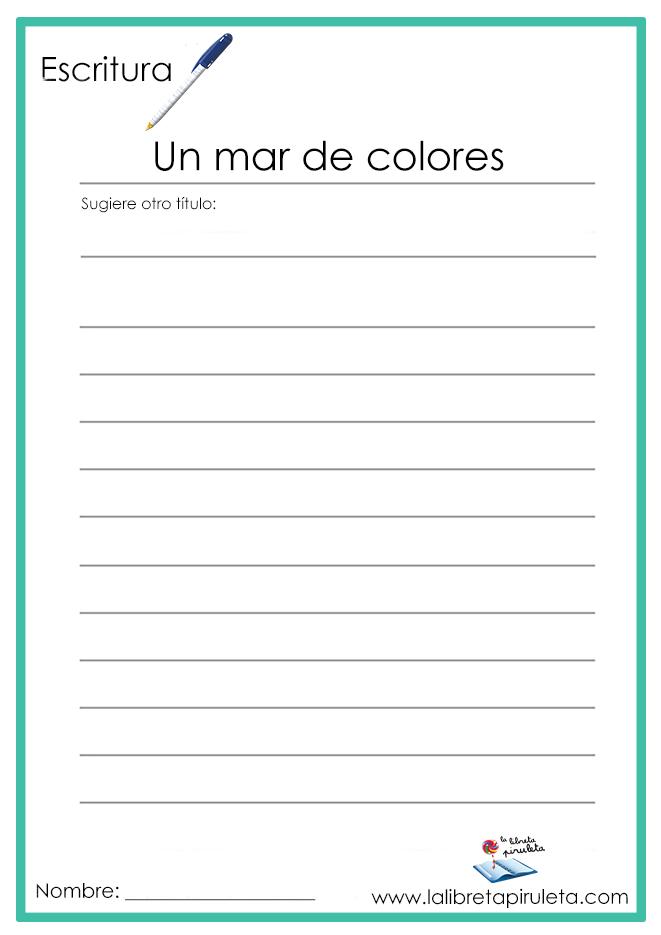 Un mar de colores