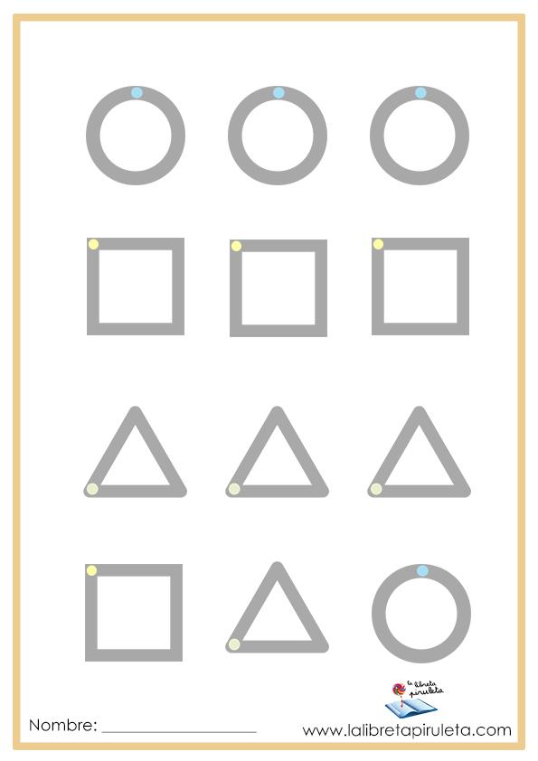 Trazos de figuras geométricas