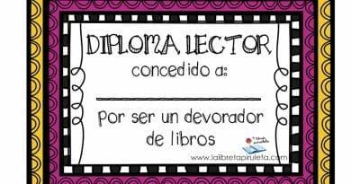 diplomas lectores
