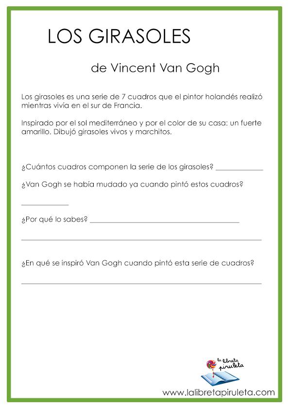 Van Gogh para niños