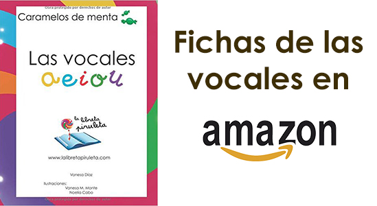 Fichas de las vocales en Amazon