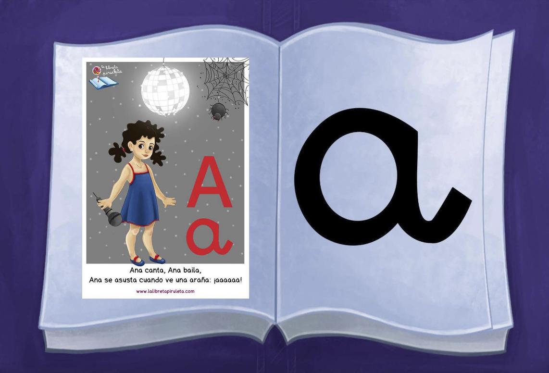 Libro para la lectura de las vocales