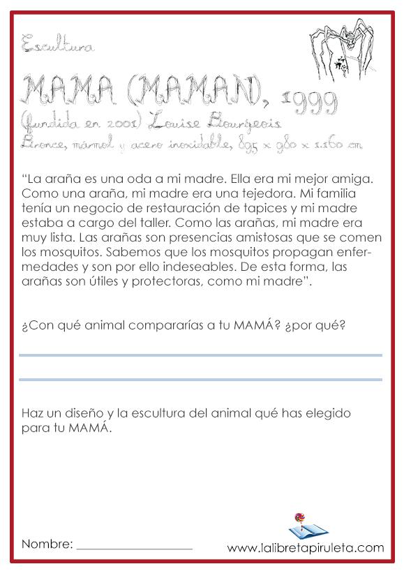Ficha de lectura MAMA