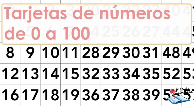 Números de 0 a 100
