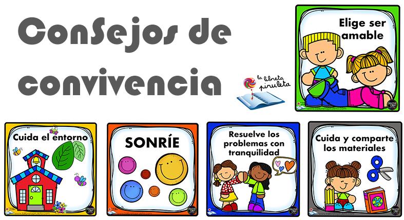 ConSejos de ConViVencia (normas) para el aula