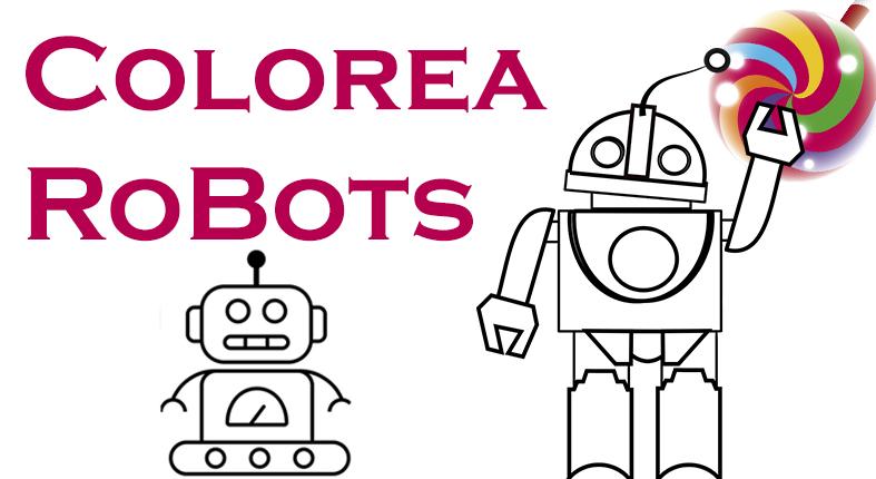 Colorea robots