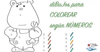 colorear según números