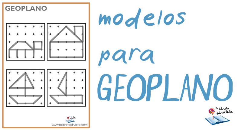 Figuras para geoplano