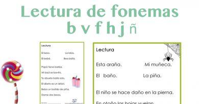 Lectura de fonemas
