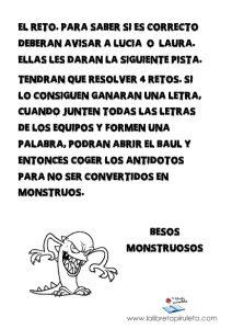 Reto monstruoso