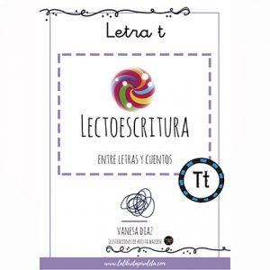 Entre letras y cuentos: Cuadernillo de la letra T