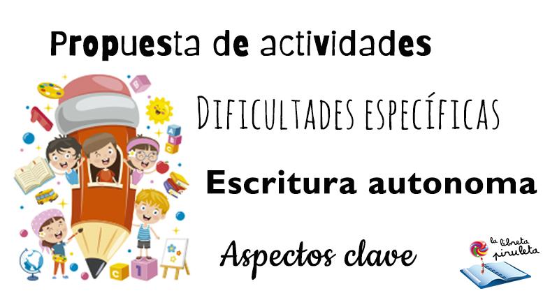 ✍ Actividades de escritura en el aula