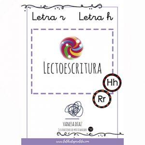 LECTOESCRITURA: Cuadernillo de las letras R, H